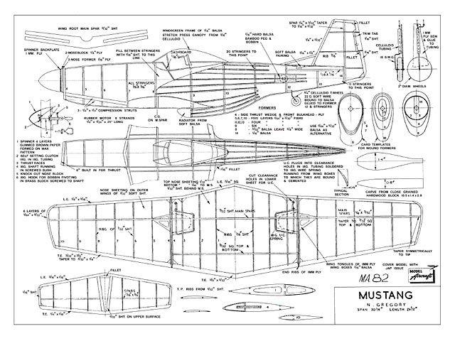 balsa wood diagrams