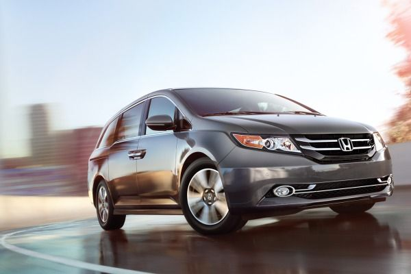 The redesigned 2014 Honda Odyssey starts at $29,505.
