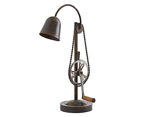 """INDUSTRIALNY SZYK: Lampa stołowa """"Iron"""""""