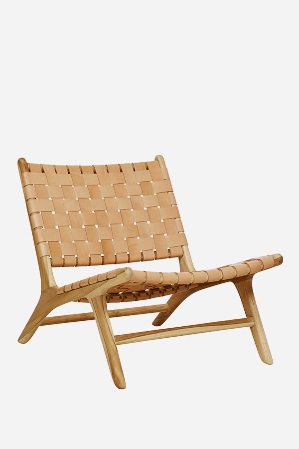 with endless appeal the danish designed marlboro chair will soon be your goto kick back chair timeless timber frame with leather strapping