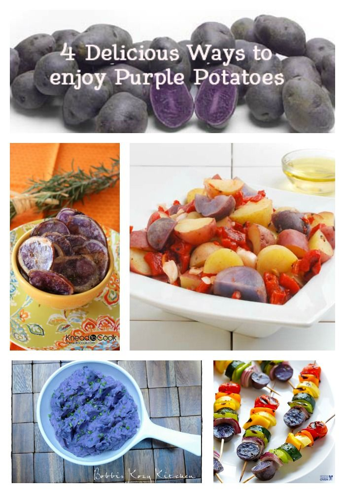 What make purple potatoes purple + 4 delicious ways to enjoy purple potatoes! {The Produce Mom}