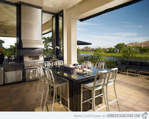 17 Best Ideas About Modern Outdoor Kitchen On Pinterest Modern Bar Contemporary Kitchens And