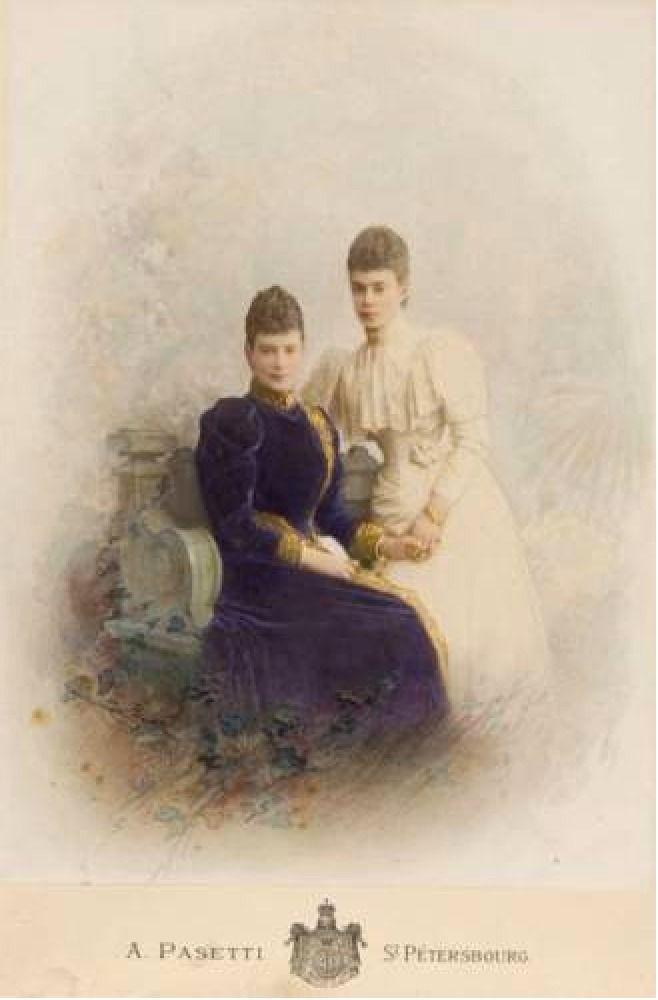 Maria Feodorovna and Xenia Alexandrovna