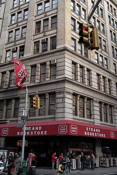 Exterior of Strand Bookstore in New York City