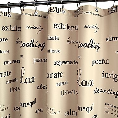 Park B Smith Resort Chocolate Shower Curtain Jcpenney