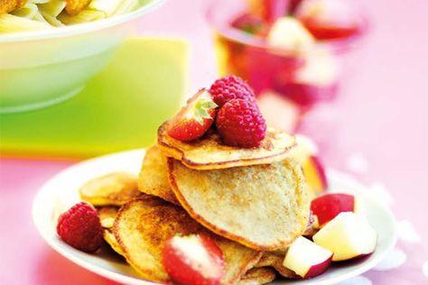 Vegomagasinet: Havrepannkakor med banan