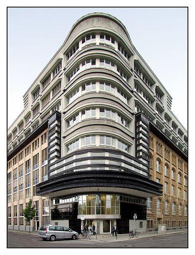 Berlin, Mossehaus, Erich Mendelsohn, Former Newspaper Quarter, Jerusalemer Straße.
