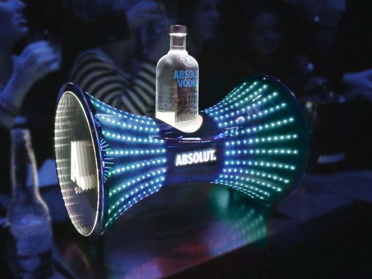bar display - These buckets were designed to function as bar displays and were…