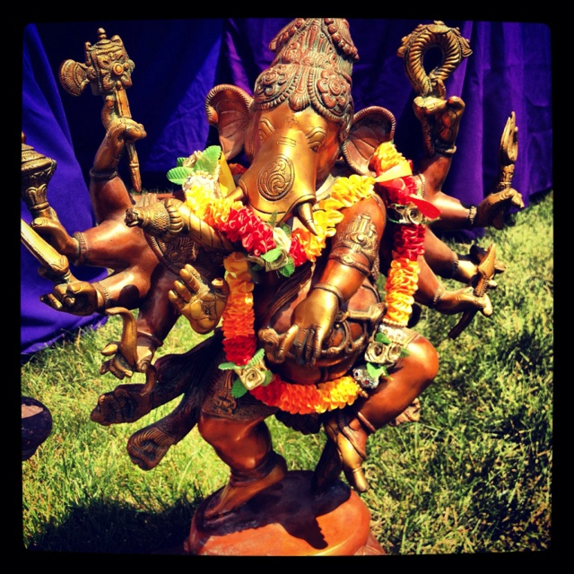 Ganesh at Wanderlust