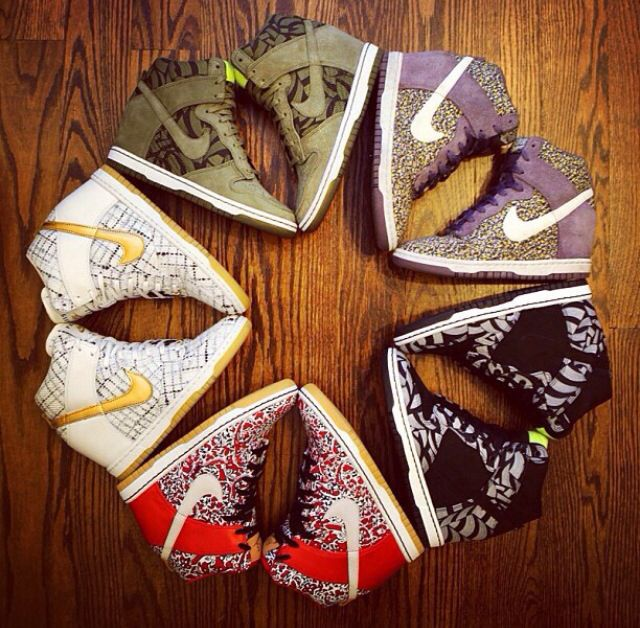 Nike shoe star