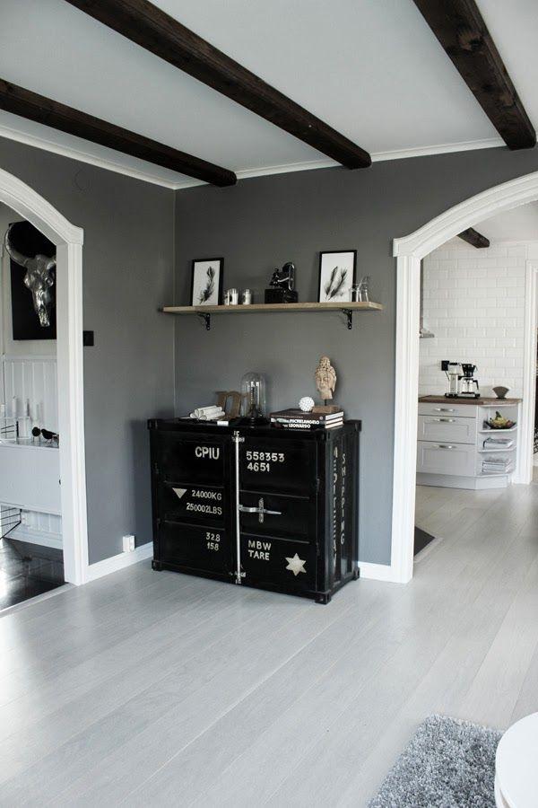 vardagsrum inspo, inspiration, vitt och gr?tt, svart och vitt ...