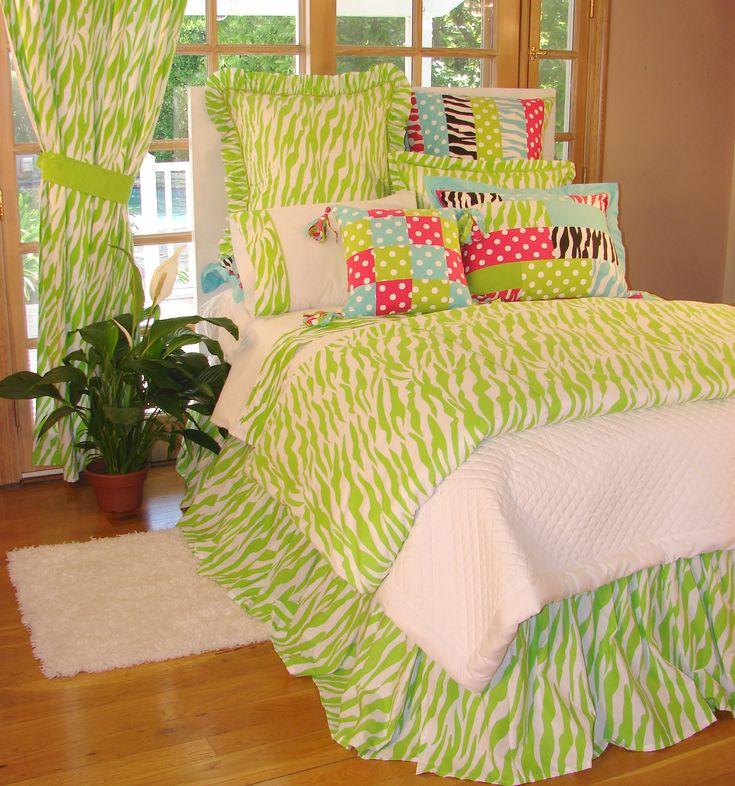 Best 25+ Lime Green Bedding Ideas On Pinterest