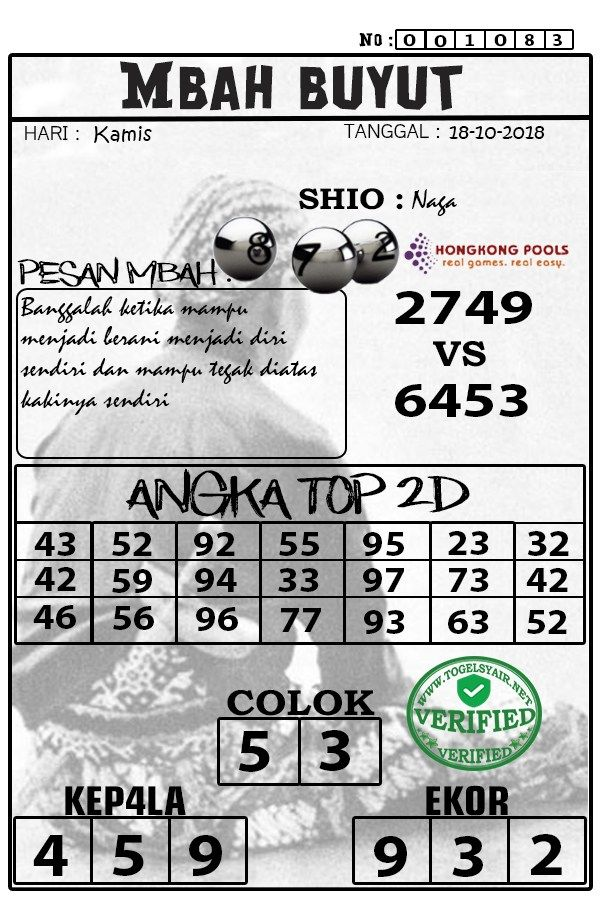 Pin Di Syair Togel