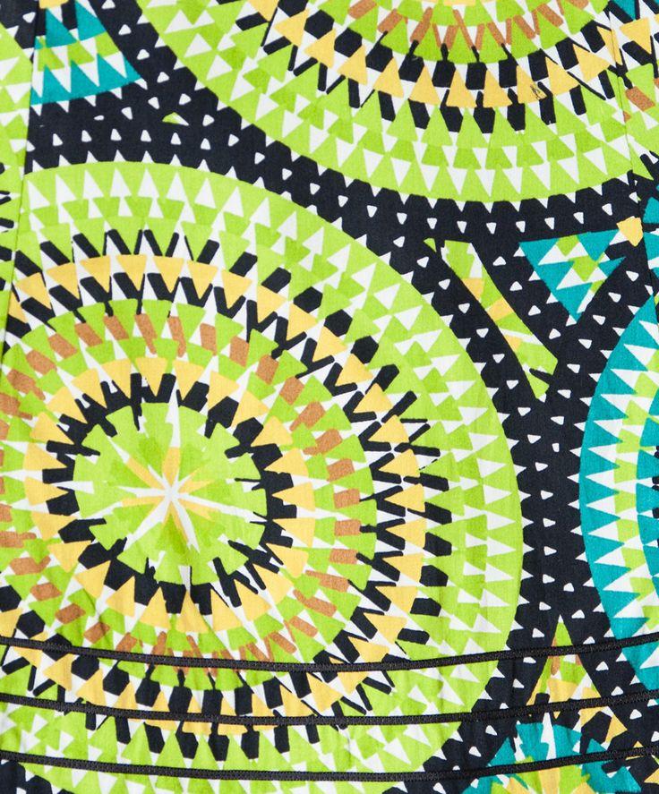 Fabulous Mozaic Muse Cotton Skirt