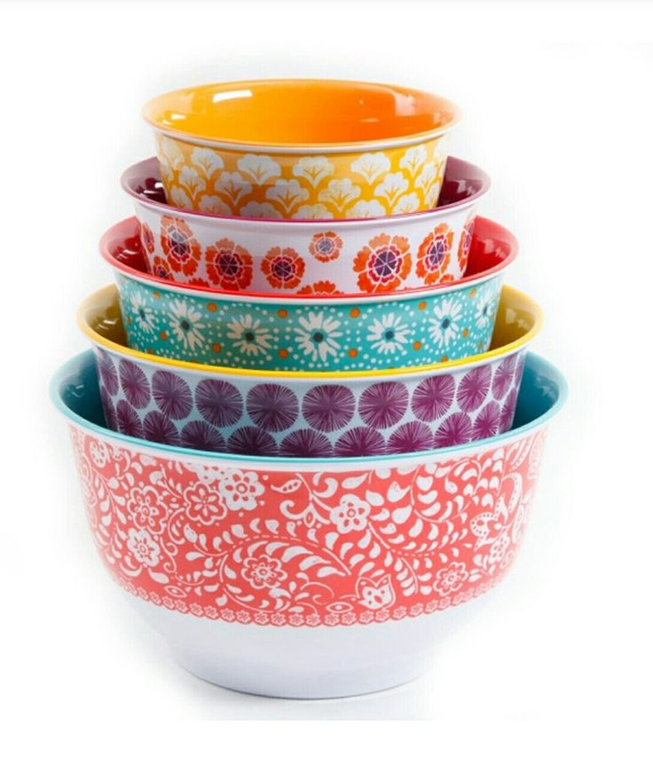 Pioneer Woman bowls with lids at Walmart 10pc