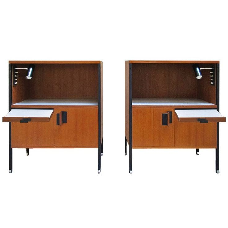 Fabulous Pair Of Bedside Tables Designed By Ico Parisi Great Pictures