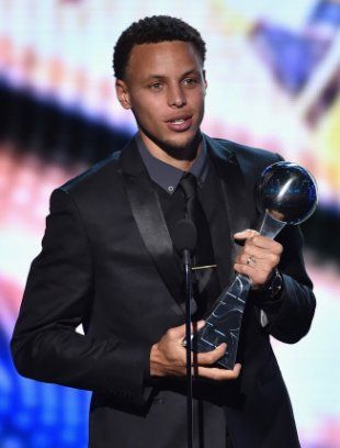 Stephen Curry wins Best NBA Player, Best Male Athlete at 2015 ESPYs | Ball ... Stephen Curry  #StephenCurry