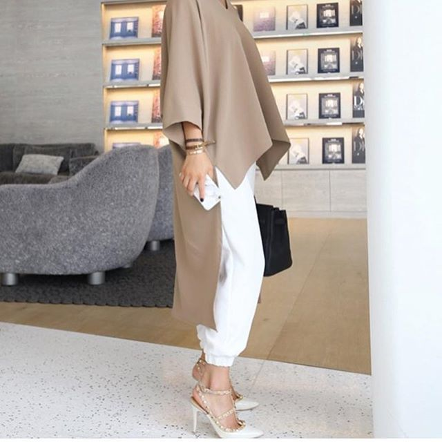 للمحجبات، مع شوي تعديلات#styleinsaudi #fashion #saudi #style #trends #saudiwomen