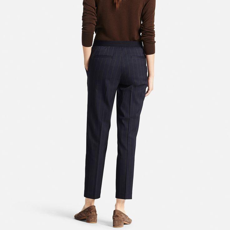 WOMEN Smart Ankle Length Trousers | UNIQLO
