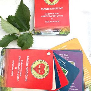 Maori Medicine indigenous plant identification guide and healing cards from weloverongoa.co.nz #maoriMedicine #healingCards #indigenous