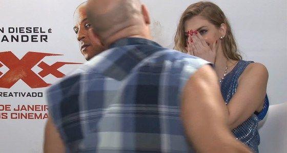 Verdade sobre entrevista de Vin Diesel com You Tuber Carol Moreira - http://jornalprime.com/verdade-sobre-entrevista-de-vin-diesel-com-you-tuber-carol-moreira/
