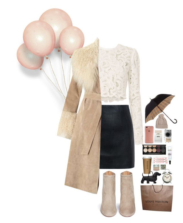 """""""✨Fur Coat✨"""" by xashleighxo ❤ liked on Polyvore featuring A.L.C., McQ by Alexander McQueen, Miss Selfridge, Aquazzura, Louis Vuitton, Thom Browne, Newgate, NYX, Witchery and Clinique"""