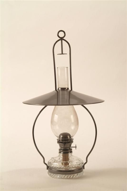 Lehman's - Hanging Oil Lamp. I want two of these. Hanging from the ceiling on each side of the piano.