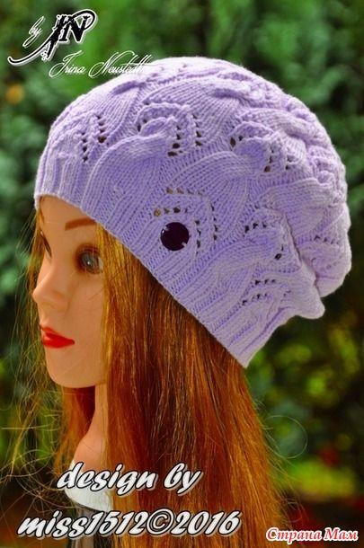 всем доброго времени суток, угощайтесь  Связалась у меня для одной замечательной девчушки в подарок шапочка бини в её любимом цвете
