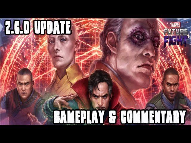 Marvel: Future Fight (Epic Quest For Dr. Strange - Part 1) - Video --> http://www.comics2film.com/marvel-future-fight-epic-quest-for-dr-strange-part-1/  #DoctorStrange