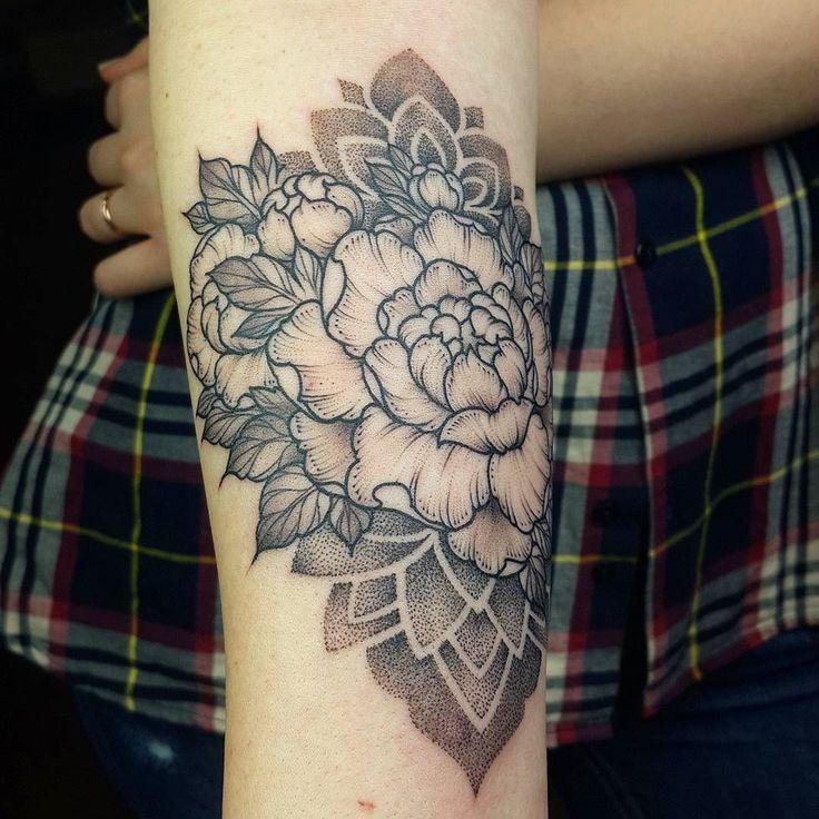 100 Peony Tattoo Designs For Men: Http://4develop.com.ua/top-100