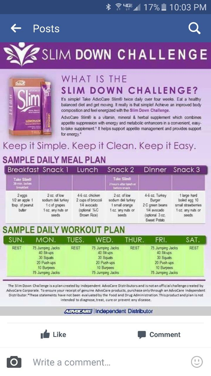 Advocare Slim down challenge is the best jump start to your weightloss journey.