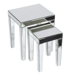 $174.99 Ave Six Reflections 2-piece Nesting Table Set | Overstock.com