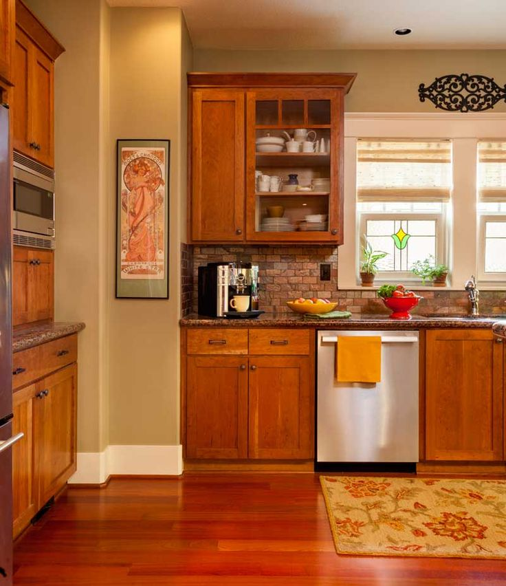 25+ Best Ideas About Cherry Cabinets On Pinterest
