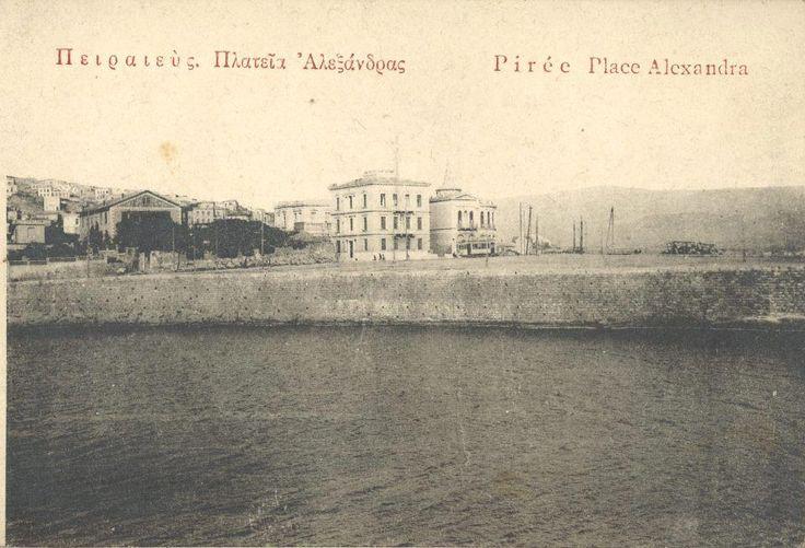 Η Συνοικία Τσίλλερ. Ο χώρος μπροστά από τα σπίτια ονομάστηκε πλατεία Αλεξάνδρας προς τιμή της Αλεξάνδρας, κόρης της Βασίλισσας Όλγας (αρχείο prisma)