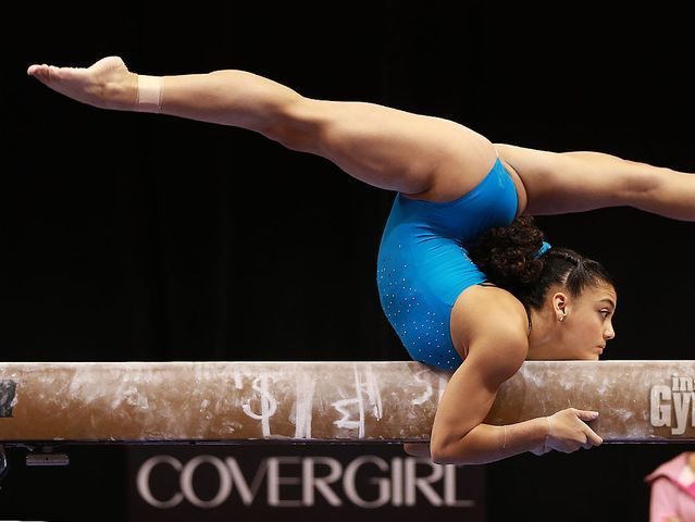 I got: Laurie Hernandez! What 2016 Olympic gymnast are you?