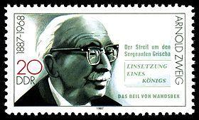 Arnold Zweig (1887-1968) Writer & WWII Anti-Facist Activist  Wikipedia, the free encyclopedia