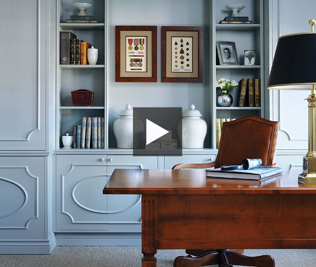 Tour a luxurious home with European influences.