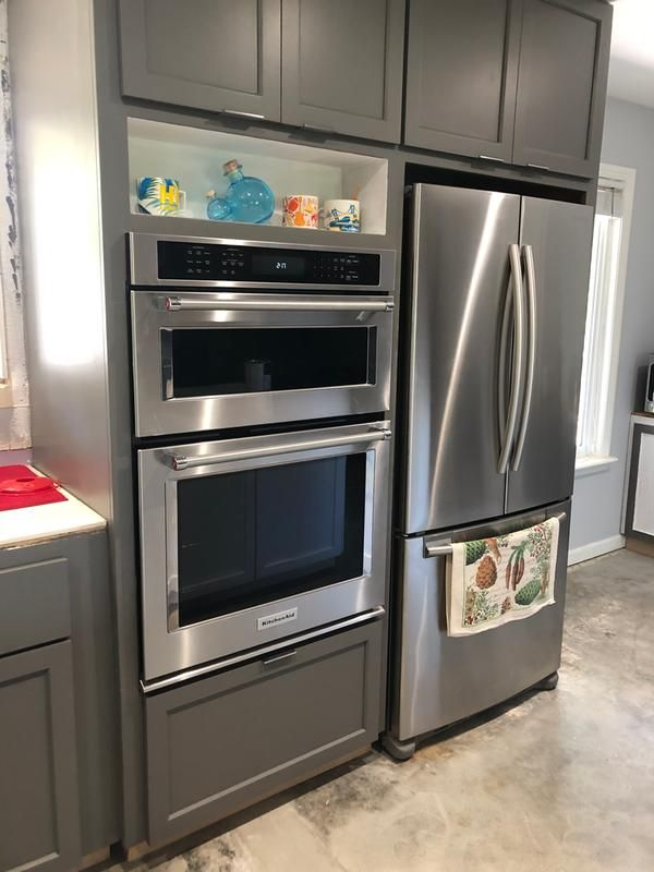 Black Stainless Steel With Printshield Finish 30 Combination Wall Oven With Even Heat True Convection Lower Oven Koce500ebs Kitchenaid In 2020 Double Wall Oven Kitchen Wall Oven Combination Wall Oven