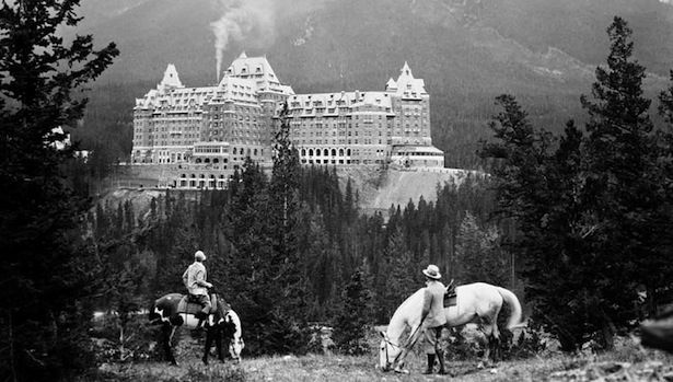 The Fairmont Banff Springs Hotel in 1929 #vintage #history #hotel