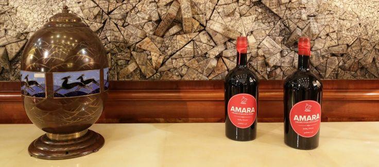 """Il Viaggiatore Magazine - Trentennale della Rivista ELLE - Bottiglie di """"Amara"""""""