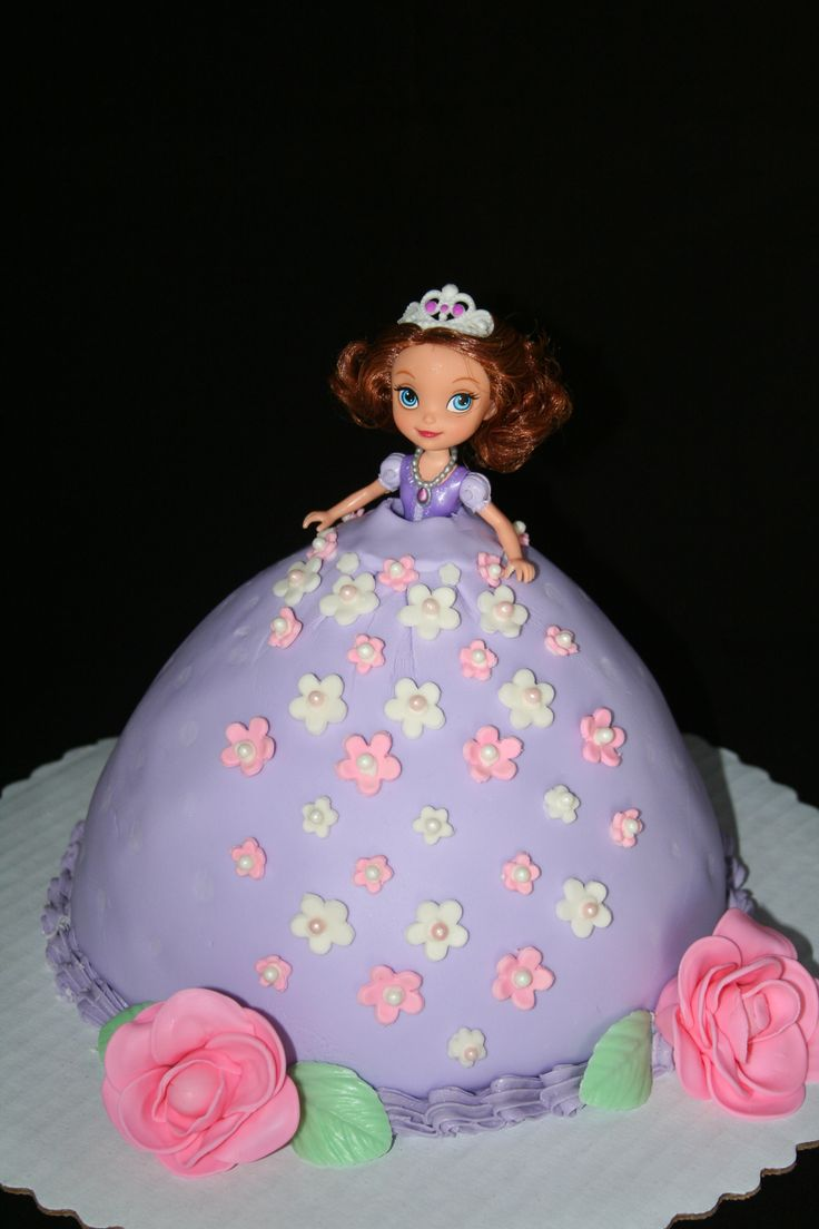 princess sofia cake princess doll cake jen something for millie 6813