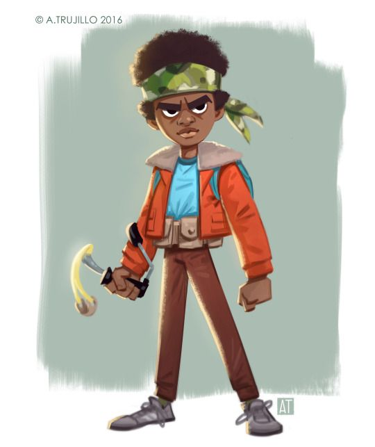 Stranger Things: Wrist Rocket by Tony Trujillo  Lucas Sinclair, portrayed in the show by Caleb McLaughlin.