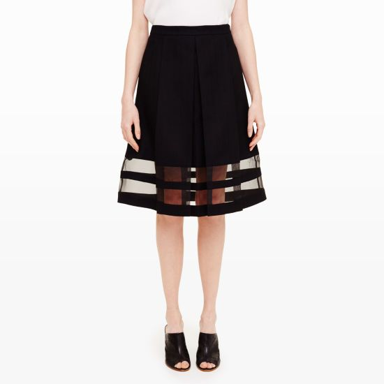 Hannelina Skirt - Midi Skirts at Club Monaco
