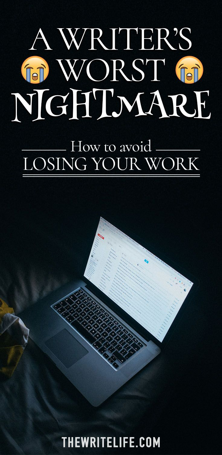 Tips for Writers: 4 Easy Ways to Back Up Your Writing