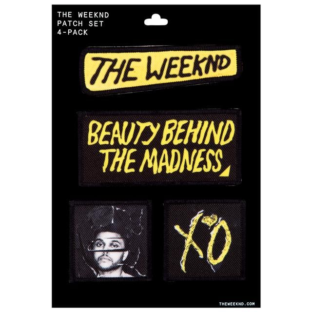 The Weeknd Patches | Beauty Behind the Madness Patches on Merchbar.