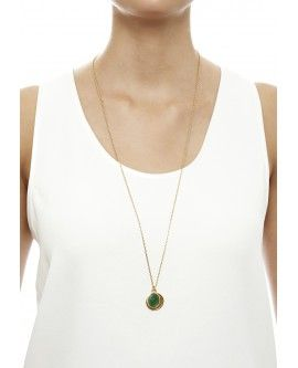 Taurus Emerald Zodiac Necklace