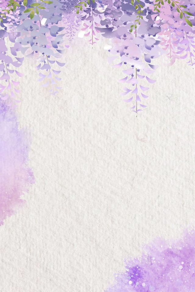 Flores Literarias Da Aguarela Roxa In 2020 Watercolor Flower Background Floral Background Purple Watercolor