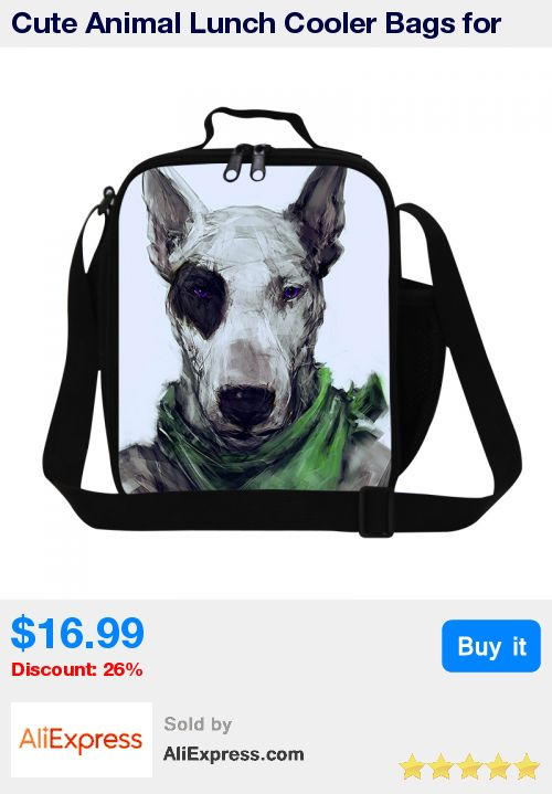 Cute Animal Lunch Cooler Bags for Kids Teenagers Insulated Lunch Bags Designer Lunch Box Bags Messenger Lunch Container for Boys * Pub Date: 18:05 Sep 20 2017