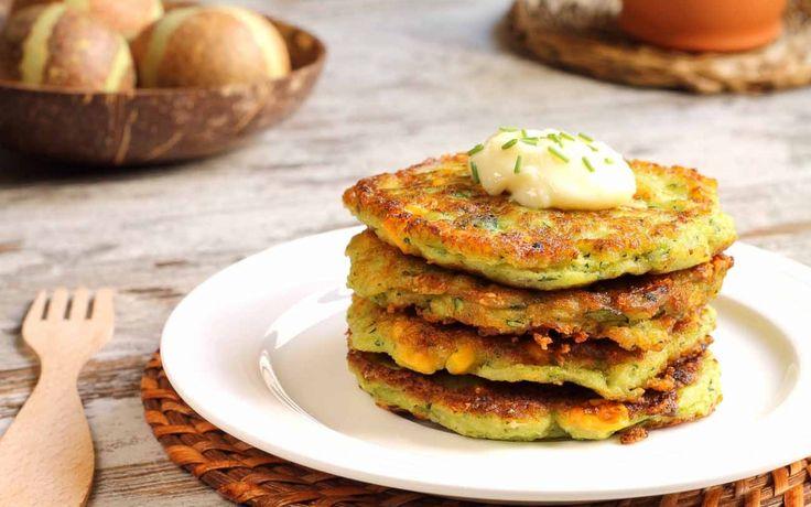 High Protein Zucchini & Corn Patty Recipe (Fritters)- make adjustments