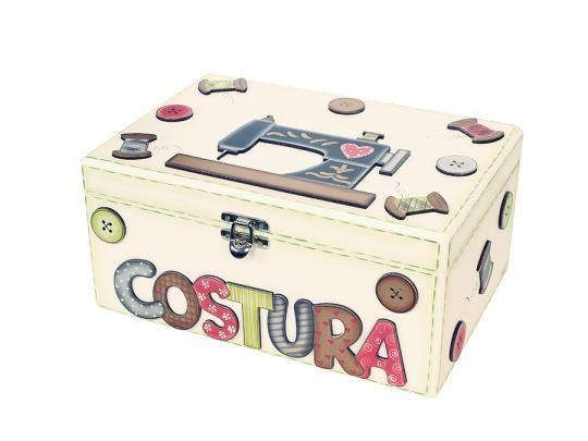 Caixa de costura passo a passo - http://www.comofazer.org/faca-voce-mesmo/caixa-de-costura-passo-a-passo/